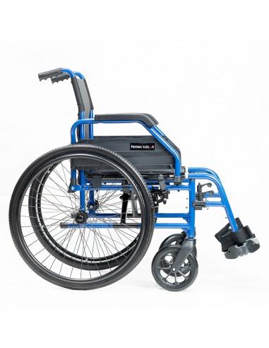 Silla de ruedas aluminio autopropulsable